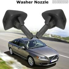 2xWindshield Washer Wiper Water Spray Nozzle Jet For Volvo S80 C70 XC90 30655605