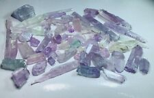 WOW amazing top mix, bi-colour kunzite crystals lot from afghanistan 1100 grams