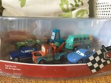 Cars Disneystore Figurine Set -Radiator Springs Set of 6