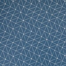 Stoff Baumwolle beschichtet Swafing Luna Petrol/weiß Motiv abstrakt 160cm