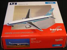 """LTS (LTU sud) Boeing b757-200 """"D-amut"""" Herpa wingsclub 526449 1:500 NG"""