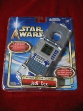 "TIGER STAR WARS JEDI DEX ""Attack of The Clones"" HANDHELD GAME 2002 New! HASBRO"