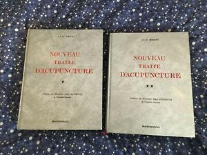 NOUVEAU TRAITE D' ACUPUNCTURE 2/2 VOL NIBOYET MAISONNEUVE 1979