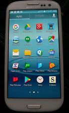 "Boost Mobile Samsung Galaxy S3 SIII SPH-L710T White 4.8"" Used in Great Condition"