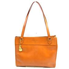 Charles Jourdan Tote bag Orange Gold Woman Authentic Used Y6051