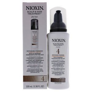System 4 Scalp and Hair Treatment For Fine Hair by Nioxin for Unisex -