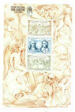VINTAGE CLASSICS - Sierra Leone Von Goethe - Sheet Of 3 - MNH