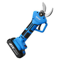 Professional 1100W 21V 32mm Electric Pruning Shears Cutter Pruner Scissors Blade