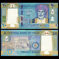 Oman 20 Rials, 2010, P-46, Independent 40th COMM., Banknote, UNC