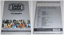 LADY GAGA LIVE AT GLASTONBURY DVD + CD 2010 (STAMPA CINESE)