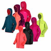 Girls Kids Regatta Lightweight Waterproof Jacket Clearance RRP £50