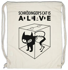 Schrödinger /'s cat is alive dead I démoniaque shirt-the big style nerd Girl bang theory