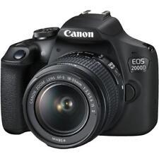 CANON EOS 2000D Kit Spiegelreflexkamera 24.1 Megapixel mit Objektiv 18-55 mm f/5