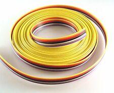 SAE 04408 Varios Colores Cinta Cable Awg 28-7/36 300V 105'C 8 vías de 5m OMR3-01