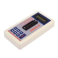 Transistor Tester detectar Ic Tester Medidor mantenimiento Tester mos Pnp Npn Fet