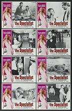 THE SPECIALIST original 1975 lobby card set ADAM WEST/AHNA CAPRI 11x14 posters