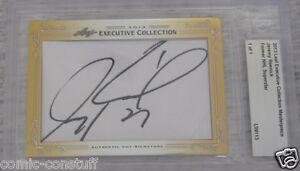 Jeremy Roenick 2013 Leaf Masterpiece Cut Signature signed autograph card 1/1 JSA