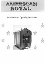 outdoor wood furnace boiler installation manual