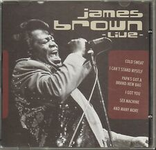 James Brown live / CD - Top-zustand