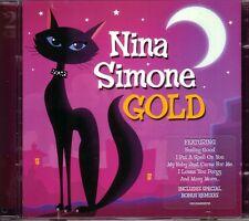 2 CD (NEU!) . NINA SIMONE - Gold (Best of / Sinnerman 10:16 / Feeling Good mkmbh
