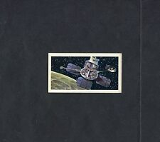 Brooke Bond Tea Card - The Race Into Space - 1971 - No 23 - Lunar Orbiter