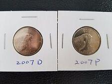 2007-D P Idaho State Quarter Uncirculated 2 coins