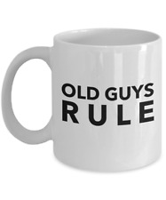 Old Guys Rule Coffee Mug - Funny For Men Gift