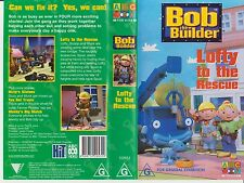 VHS *BOB THE BUILDER - LOFTY TO THE RESCUE* ABC 4 Kids Can we fix it? Yes we can