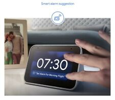 Lenovo Smart Alarm Clock with Google Assistant (Perfect Nightstand or Companion)