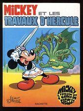 MICKEY A TRAVERS LES SIECLES n°3   Les Travaux d'HERCULE   HACHETTE  EO 1970