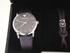 Emporio Armani Men Watch & Bracelet Set AR80008 with Warranty & Instruction Book