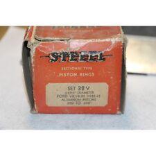 Jeu de segments 8 pistons Ford V8 , V8-85  1932-1941 diametre 3-1/16''