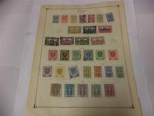 Collection of 32 Austria 1919-1922 Stamps on Scott Album Page - Make an Offer