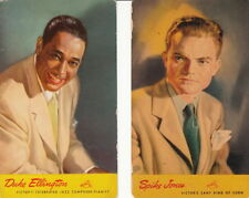 DUKE ELLINGTON ~ SPIKE JONES ~ RCA VICTOR ARTISTS ~ (2 CARDS) ~ c. - 1940's