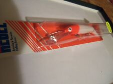 1 Rebel JOINTED RATTLING Spoonbill Minnow Lure DJ3R98 White/Red Head-Belly NIP