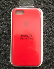 Apple iPhone 7/8 Silicon Original Apple Case Genuine Apple Cover - Red