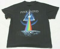 Pink Floyd Black Graphic Band Tee T-Shirt Top XL Extra Large Short Sleeve Man's