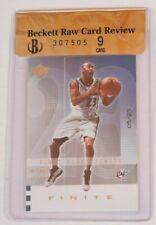 2002 UD finite first class finite Michael Jordan bgs 9 RCR 5/25