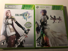 Xbox 360 Video Games Final Fantasy XIII & Final Fantasy XIII-2 - Complete