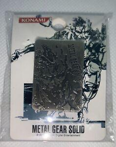 METAL GEAR SOLID ART OF YOJI SHINKAWA BADGE/PIN