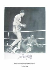 Henry Cooper  Autograph , Original Hand Signed Photo