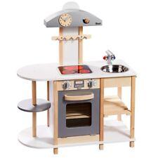 howa Spielküche Kinderküche Deluxe aus Holz mit LED Kochfeld 48150