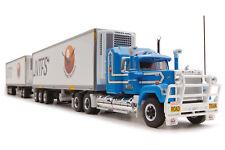1:64 Mack Superliner Truck Freight Double Road Train NTFS Highway Replicas 12006