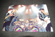 ZZ TOP Dusty Hill signed Autogramm auf 20x30 cm Foto InPerson LOOK