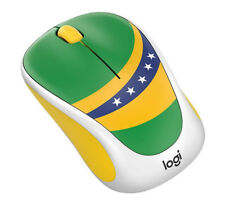 Limited Logitech M238 World Cup Themed Wireless Mouse Brazil