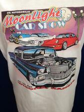 Vintage 2000 Flames Hot Rod T Shirt 6th Moonlight Car Show Wichita KS B Scott  M