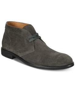 Frye Men's Graphite Round Toe Scott Suede Chukka Boots Shoes Size 11.5 M