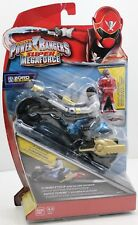 Power Rangers Super Megaforce - Turbo Cycle with Silver Ranger - Zord Builder