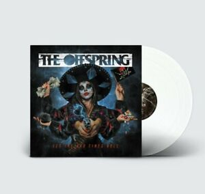 """The OFFSPRING Let the bad times roll- WHITE VINYL LIMITED EDIT""""SIGNED"""" preorder"""