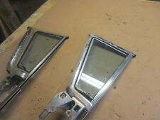 1957 BUICK ROADMASTER COUPE VENT WINDOW GLASS AND REGULATOR SETUP